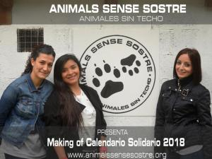 Making Of Calendario Solidario 2018!